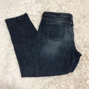 Mossimo boyfriend crop denim jeans SZ 10 stretch